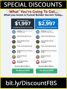 Funnel Builder Secrets Price